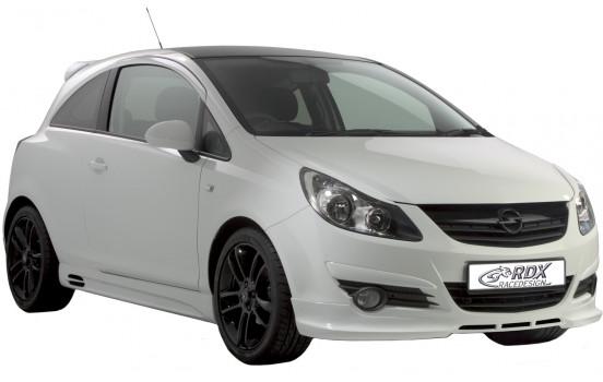 Spoiler avant Opel Corsa D 2006-2011 sans OPC (ABS)