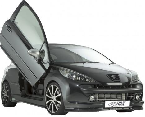 Spoiler avant Peugeot 207 2006-2009 (ABS)