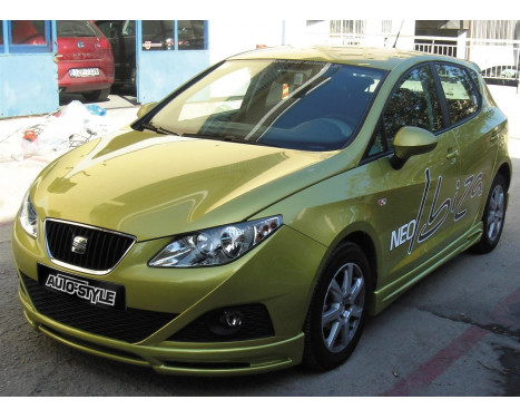 Spoiler avant Seat Ibiza 6J 3/5-portes 2008- (ABS)
