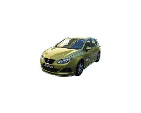 Spoiler avant Seat Ibiza 6J 3/5-portes 2008- (ABS), Image 3