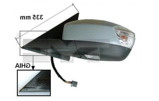 Rétroviseur extérieur 310-0120 TYC