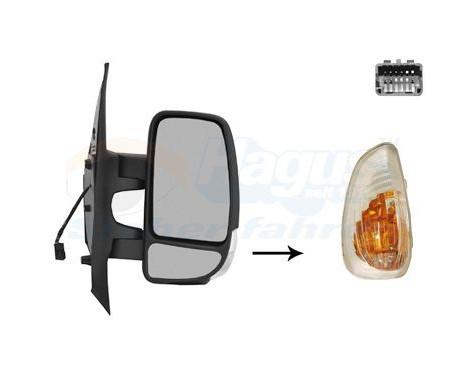 Rétroviseur extérieur droit 3799808 Hagus, Image 2