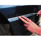 Self adhesive chrome trims