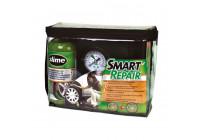 Slem punktering reparationssats med kompressor och förebyggande filler
