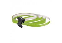 Foliatec PIN Striping för hjul, makt grön - Bredd = 6mm: 4x2,15 meter
