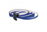 Foliatec PIN Striping för hjul, mörk - Bredd = 6mm: 4x2,15 meter