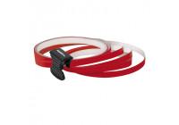 Foliatec PIN Striping för hjul, röd - Bredd = 6mm: 4x2,15 meter