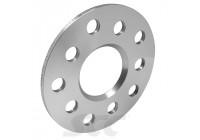 Aluminium spacer 5mm 100/4, 4 / nav hål 114,3 60,1