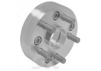 Adapter set Aluminium 25mm 127/5 till 112/5 M1 / ??2 '' UNF gänga