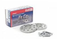 H & R spår spacer set / Spacer 30mm per axel (15mm per hjul)