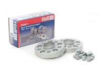 H & R spår spacer set / Spacer 50 mm per axel (25 mm per hjul)
