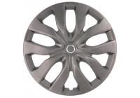 4-delad hjulsäcksats New York 17-tums Matt-Gunmetal