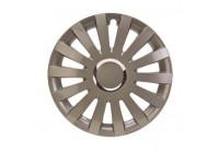 4 st. 17 tums hjul täcka Sail R Plus C Bronze