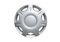 4 st. Navkapslar 13 tums Aramis Eco Silver