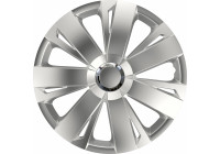 4 st. Navkapslar Energy RC Silver 16inch
