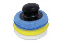 Protecton polishing sponge with handle