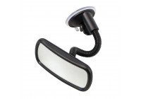 Blind spot mirror suction cup mount