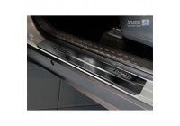 Black stainless steel entry guards Toyota C-HR 2016- - 'Exclusive' - 4-piece