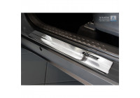 Stainless steel entry guards Toyota C-HR 2016- - 'Exclusive' - 4-part
