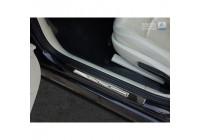 Universal entry guards 'Special Edition' Black 3D Carbon / Aluminum (2 pieces) - 45x4cm