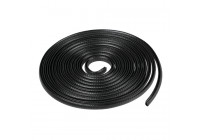 Door protector 5 meters - black - foldable