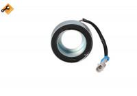 Coil, magnetic-clutch compressor