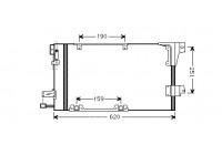 Condenser, air conditioning 37005251 International Radiators