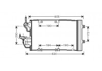 Condenser, air conditioning 37005454 International Radiators
