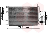 Condenser, air conditioning 59015107 International Radiators
