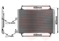 Condenser, air conditioning *** IR PLUS *** 09005173 International Radiators Plus