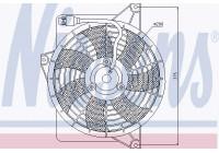 Fan, A/C condenser