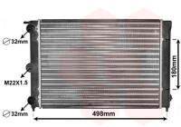 Radiator, engine cooling 58002039 International Radiators