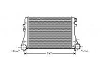 Intercooler, charger 58004227 International Radiators
