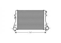 Intercooler, charger 58004306 International Radiators