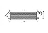 Intercooler, charger 59004134 International Radiators