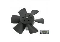 Fan, radiator 06990 FEBI