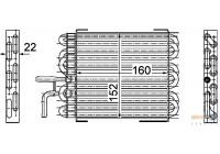 Fuel radiator BEHR HELLA SERVICE *** PREMIUM LINE *** 8MK 376 745-061