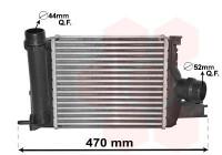 Intercooler, charger 15004013 International Radiators