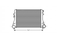 Intercooler, charger 58004306 Van Wezel