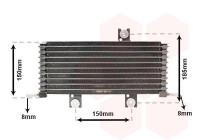 Oil Cooler, automatic transmission 13013711 International Radiators