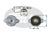 Sealing Cap, radiator RC133 Gates
