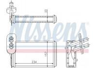 Preheater, interior heating