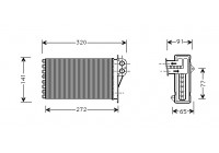 Heat Exchanger, interior heating *** IR PLUS ***