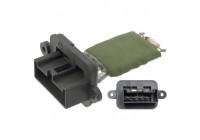 Resistor, interior blower 48299 FEBI