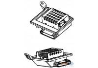 Resistor, interior blower BEHR HELLA SERVICE *** PREMIUM LINE *** 9ML 351 332-201