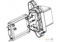 Resistor, interior blower BEHR HELLA SERVICE *** PREMIUM LINE *** 9ML 351 332-361
