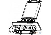 Resistor, interior blower BEHR HELLA SERVICE *** PREMIUM LINE *** 9ML 351 332-371