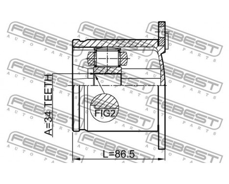 Joint Kit, drive shaft, Image 2