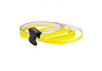 Foliatec PIN-Striping for rims yellow - Width = 6mm: 4x2,15 meter