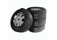 Tyre covers Profi set of 4